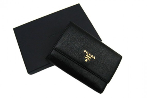 Black Prada M0203-2 Wallets 488